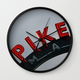 Pike Place Morning Wall Clock