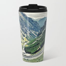 Amazing Road in the Mountains Travel Mug
