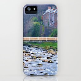 A portrait of Lynmouth iPhone Case