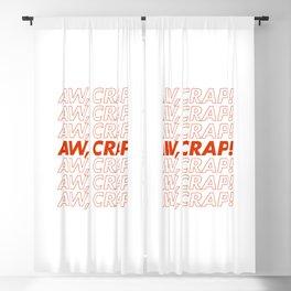 Aw, Crap! Blackout Curtain