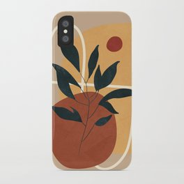 Abstract Shapes No.16 iPhone Case