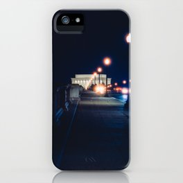 Memorial Bridge To Lincoln Memorial iPhone Case