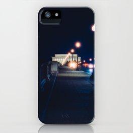 Memorial Bridge To Lincoln Memorial iPhone Case