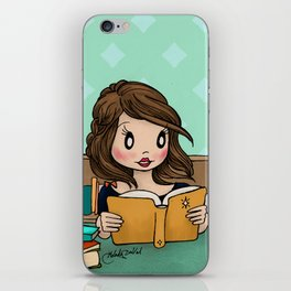 The Library is Infinity Under a Roof iPhone Skin