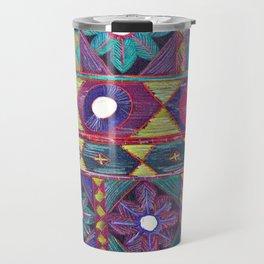 Embroidery Travel Mug