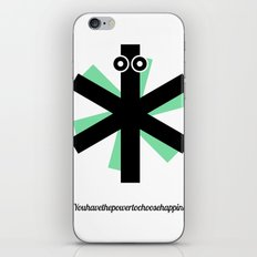 Choose Happiness iPhone Skin