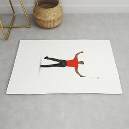 Tiger Woods Masters Champ (White) Rug