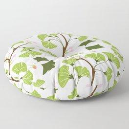 tree leaves #762 Floor Pillow