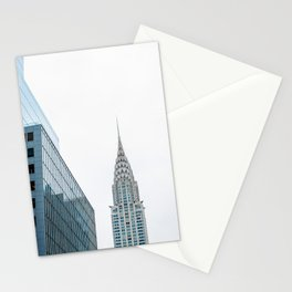 Chrysler building Stationery Cards