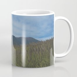 View To The Volcanoes. Coffee Mug