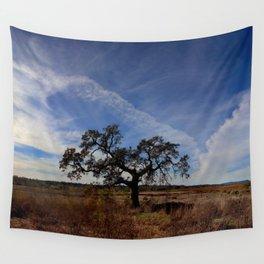 Lone Oak Tree, Laguna de Santa Rosa, Sonoma County Wall Tapestry