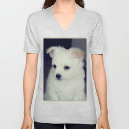 Chihuahua Pup Unisex V-Neck