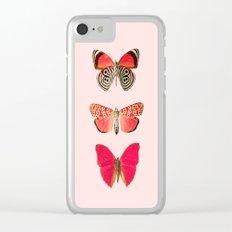 Butterflies Decor art Clear iPhone Case