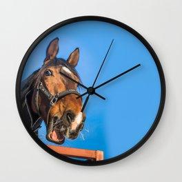 Laughing horse Wall Clock