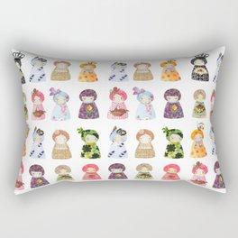 PaperDolls Rectangular Pillow