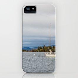 Harbor, Grand Marais, Minnesota 4 iPhone Case