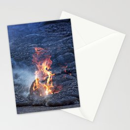 Kilauea Volcano Lava Flow. 5 Stationery Cards
