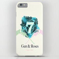 Gun & Roses Slim Case iPhone 6 Plus