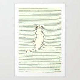 Kitty Soft Art Print