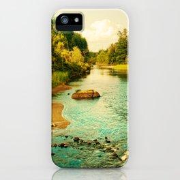 Peaceful Interlude iPhone Case