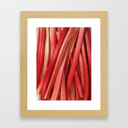 Rhubarb Framed Art Print