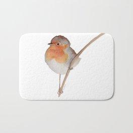 Robin Redbreast Bird Bath Mat