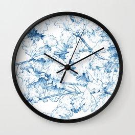 Quercus robur Wall Clock