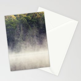 light and fog Stationery Cards