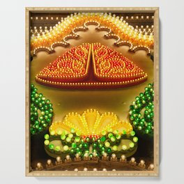 Colorful decorations Serving Tray