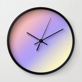 Ombre, Gradient. Wall Clock