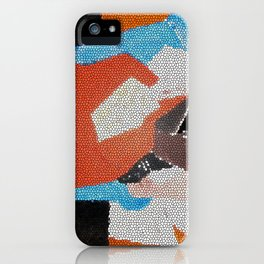 Cubist Mosaic iPhone Case