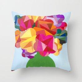 stillife: cubism Throw Pillow