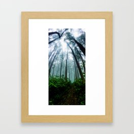 """""""Get lost"""" they said, and so I did Framed Art Print"""