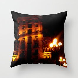 Night Crest 4 Throw Pillow
