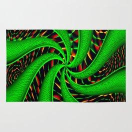 Psychedelic Swirls Rug