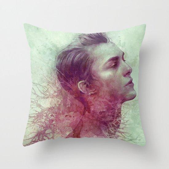 Vein Throw Pillow