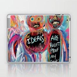 Ideals are bulletproof my dear Street Art Graffiti Laptop & iPad Skin