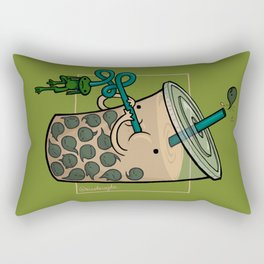 Food Series - Bubble Milk Tea Rectangular Pillow