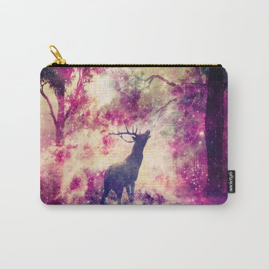 Alone in the Magic forest Carry-All Pouch