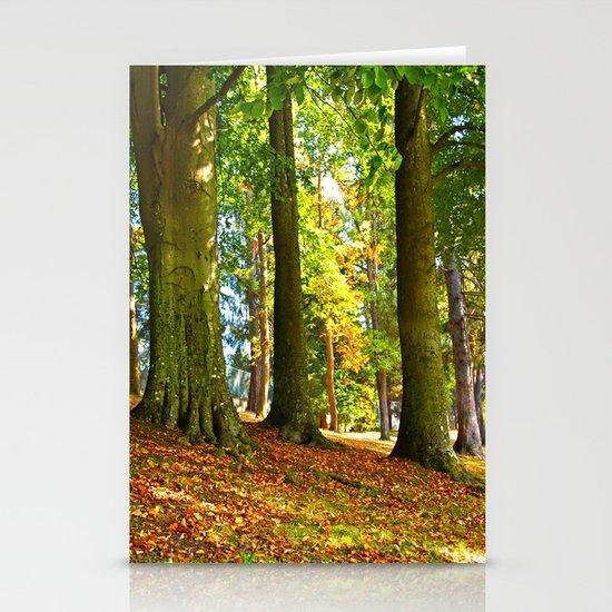 Autumn beauty Stationery Cards