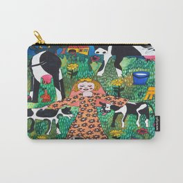 PRINCES WITH COWS Carry-All Pouch