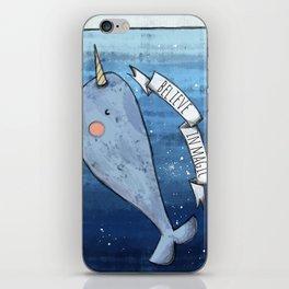 Believe in magic iPhone Skin