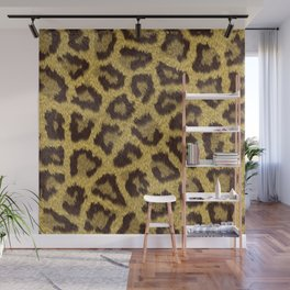 Leopard stains background Wall Mural
