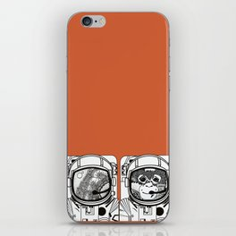 Searching for human empathy iPhone Skin