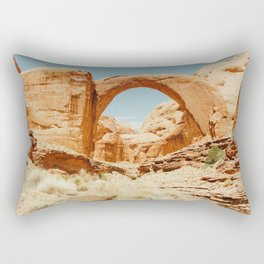 Rainbow Bridge Rectangular Pillow