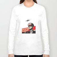 soviet Long Sleeve T-shirts featuring The Soviet Army  by Sofia Youshi