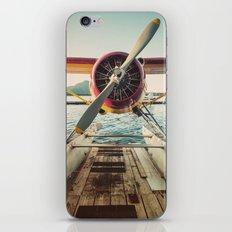 Seaplane Dock iPhone & iPod Skin