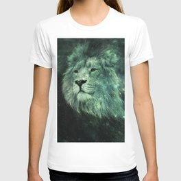 Green Celestial Lion T-shirt
