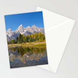 The Snake River and the Tetons Stationery Cards