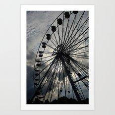 Riesenrad Art Print